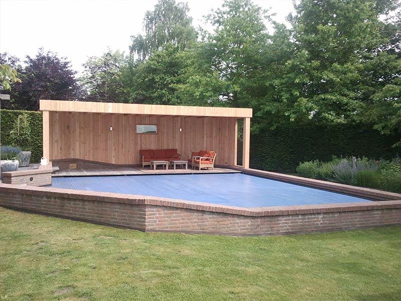 Overkapping zwembad